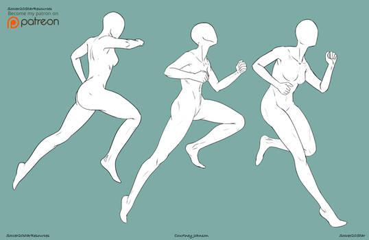 F2U - Running Poses