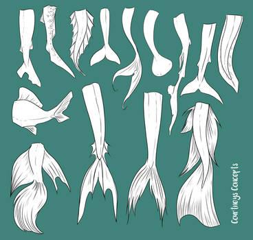F2U - Mermaid Tail Reference