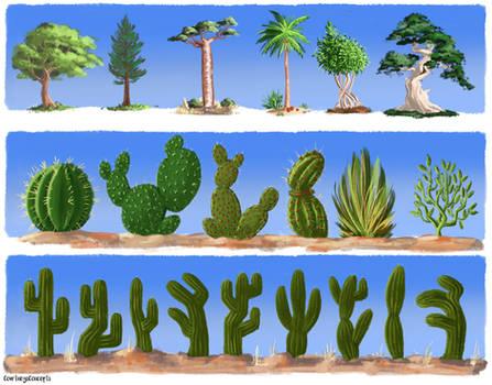 Old Vegetation Concepts
