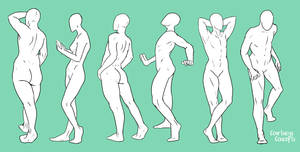Standing Poses 1