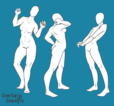 Poses 033 by CourtneysConcepts
