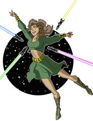 Jedi Dance by Gaston25