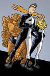 PR Fantastic Four redesign