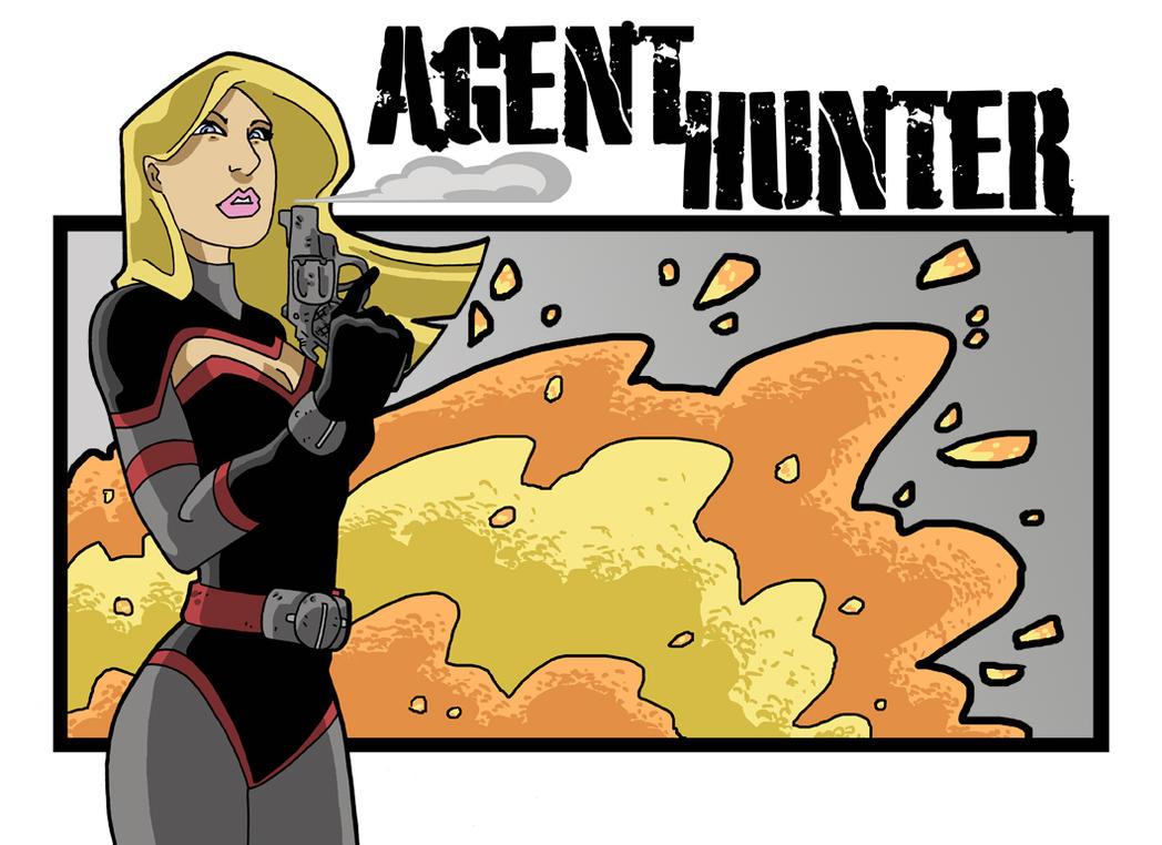 Agent Hunter fanart by Gaston25