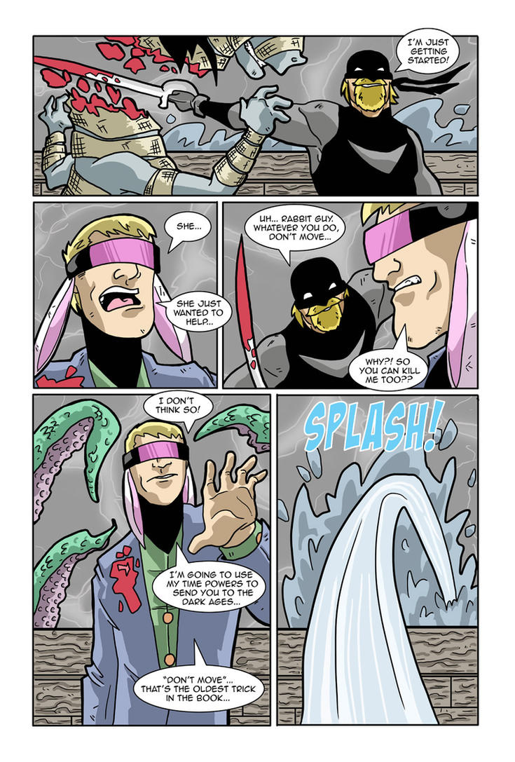AFL fight 3 page 3 by Gaston25