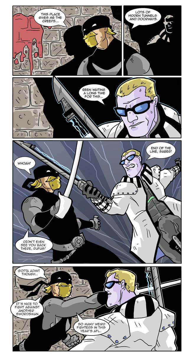 AFL fight 5 page 2 by Gaston25