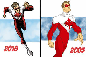 Fightin' Canuck 2005 to 2018 by Gaston25