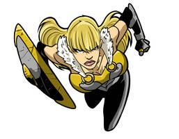 Shield Maiden 2018 by Gaston25