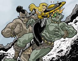 Shield Maiden Clash