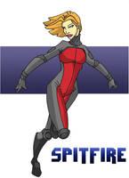 Spitfire by Gaston25