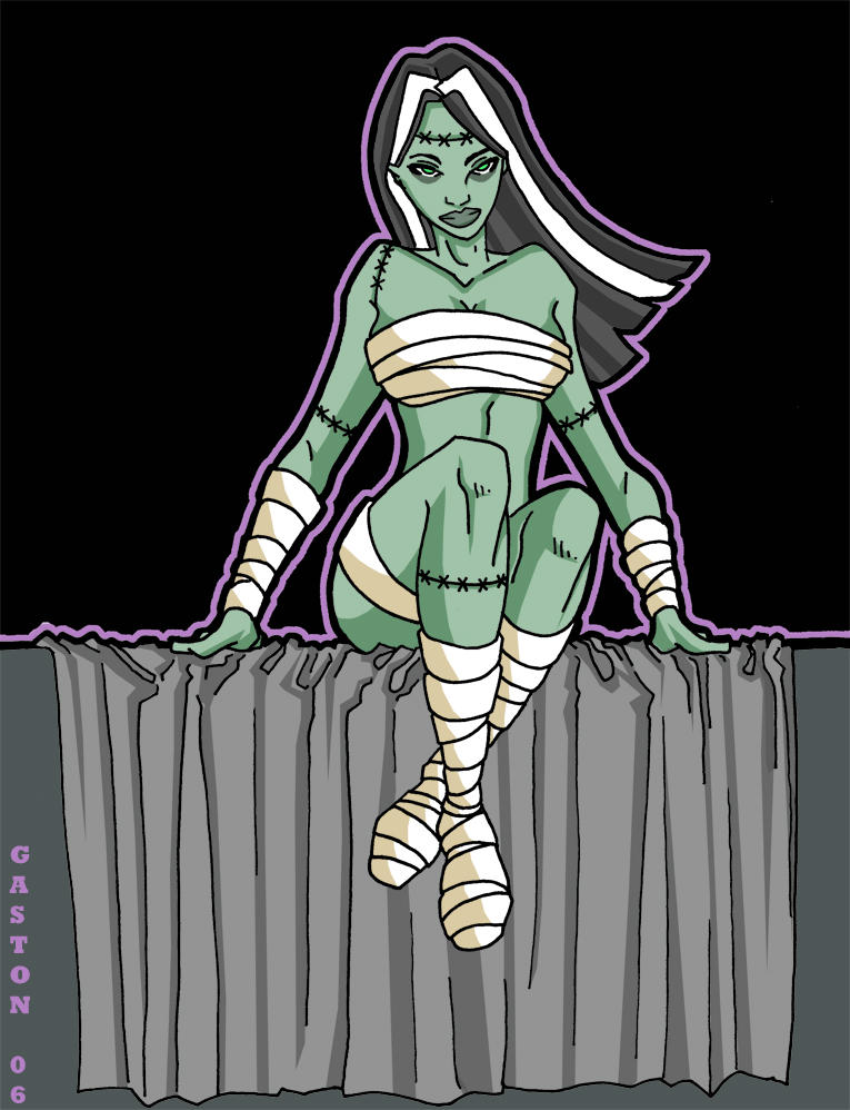 Bride of Frankenstein by Gaston25