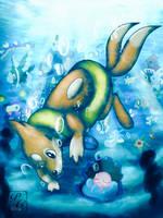Underwater habitat by Simplegrayowo