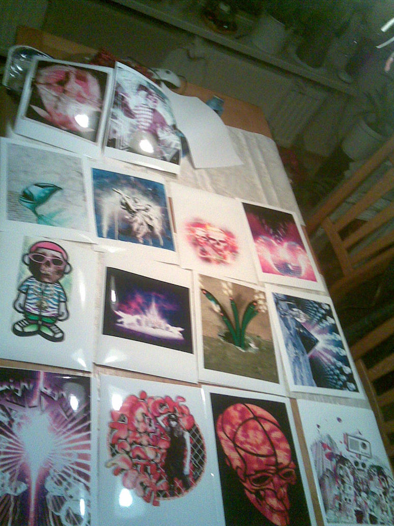2007 Prints by rejectsocietyfx