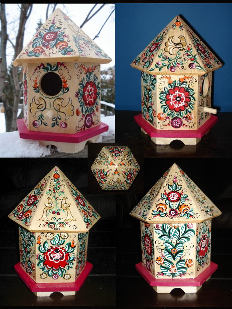 Pink Birdhouse numero trois by gonecanuck