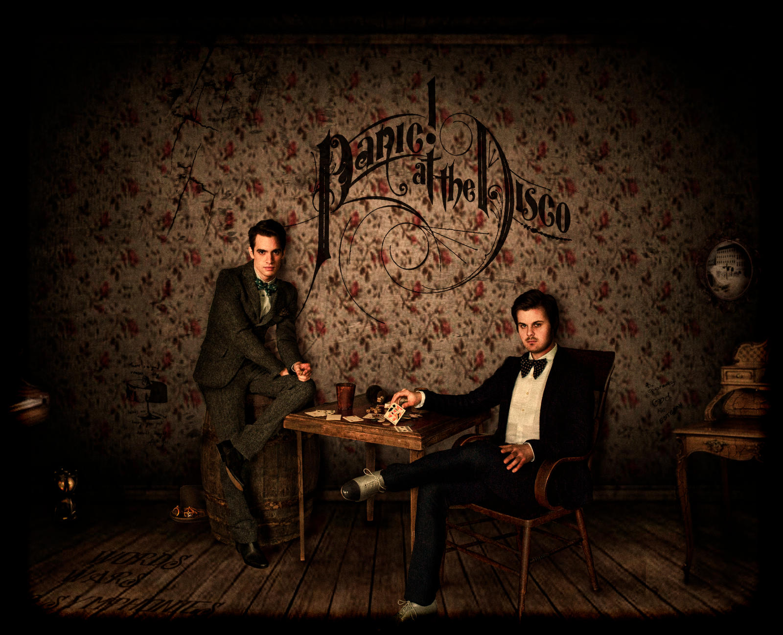 panic at the disco desktop wallpaperPanic At The Disco Logo Wallpaper