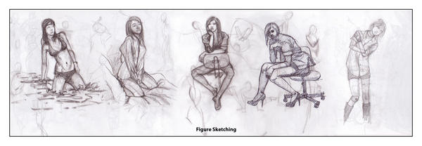 Figure Sketching by ganeshghale