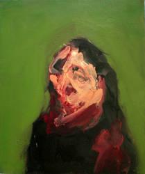 Portrait of a Figure 2008 by JJURON