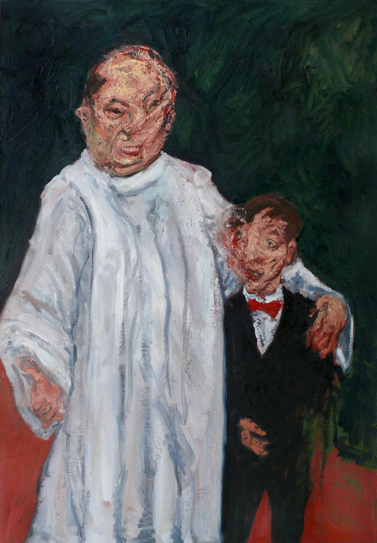 Clergyman with Boy 2008 by JJURON