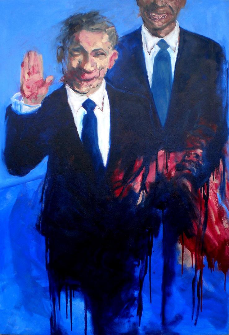 Waving Politician by JJURON