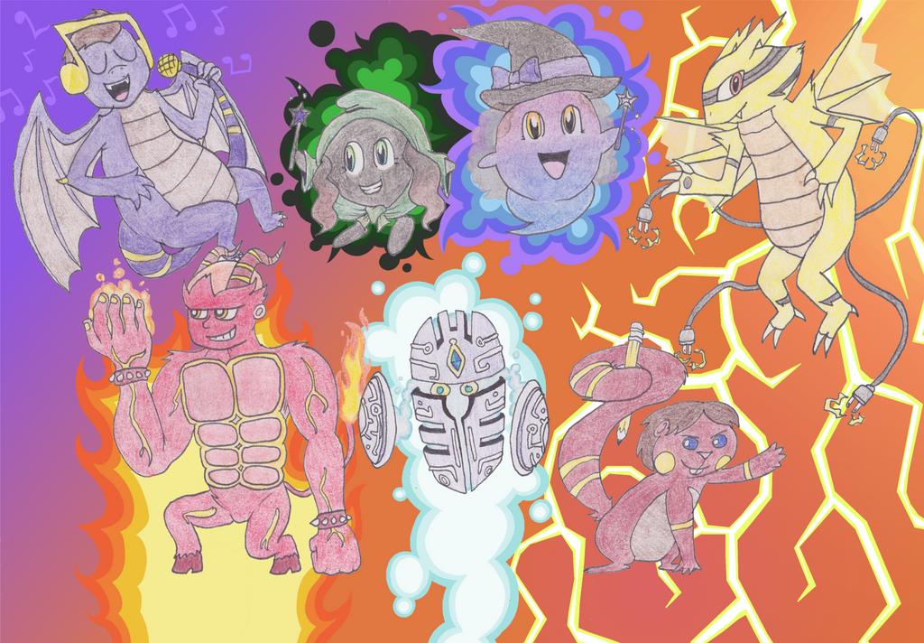 Pokemon Friends by TurboBrycerox