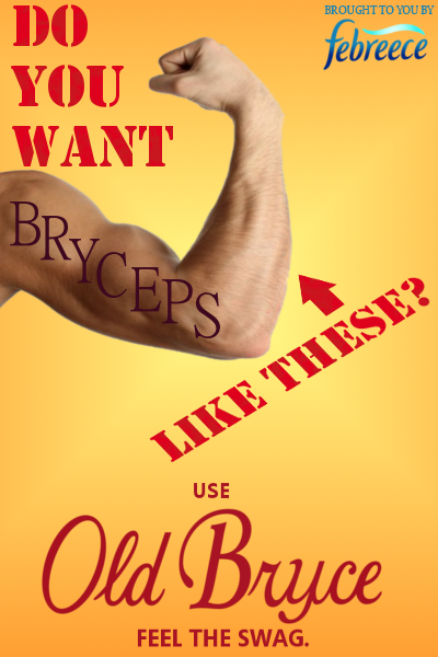 Old Bryce - Feel the Swag by The-Bryce-Is-Right