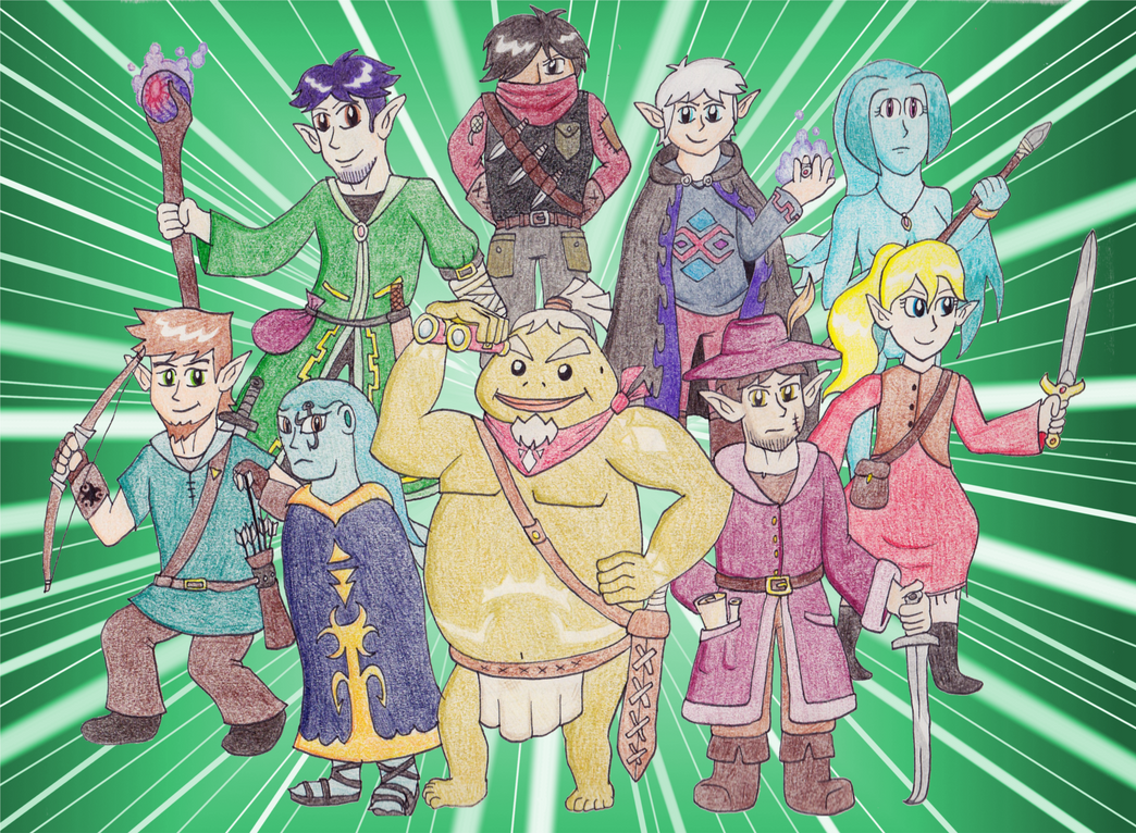 Explorers of Hyrule by The-Bryce-Is-Right