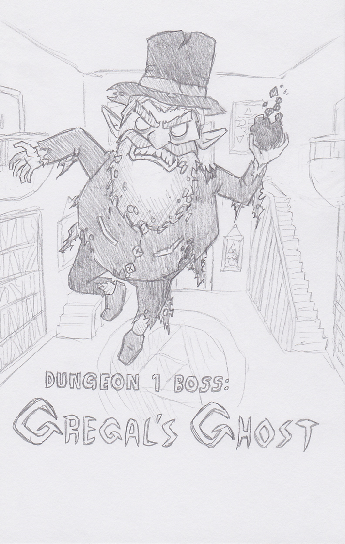Explorers of Hyrule - Gregal's Ghost by The-Bryce-Is-Right