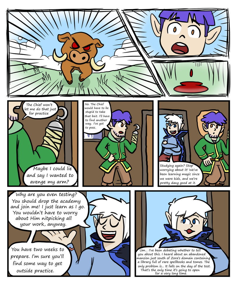 Explorers of Hyrule: The Comic - Page 4 by The-Bryce-Is-Right