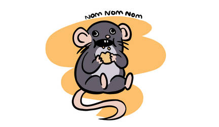Navi the Rat - Nom Nom Nom