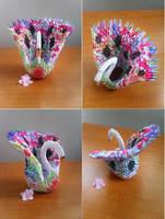 Origami Peacock by XxAl3xandra09