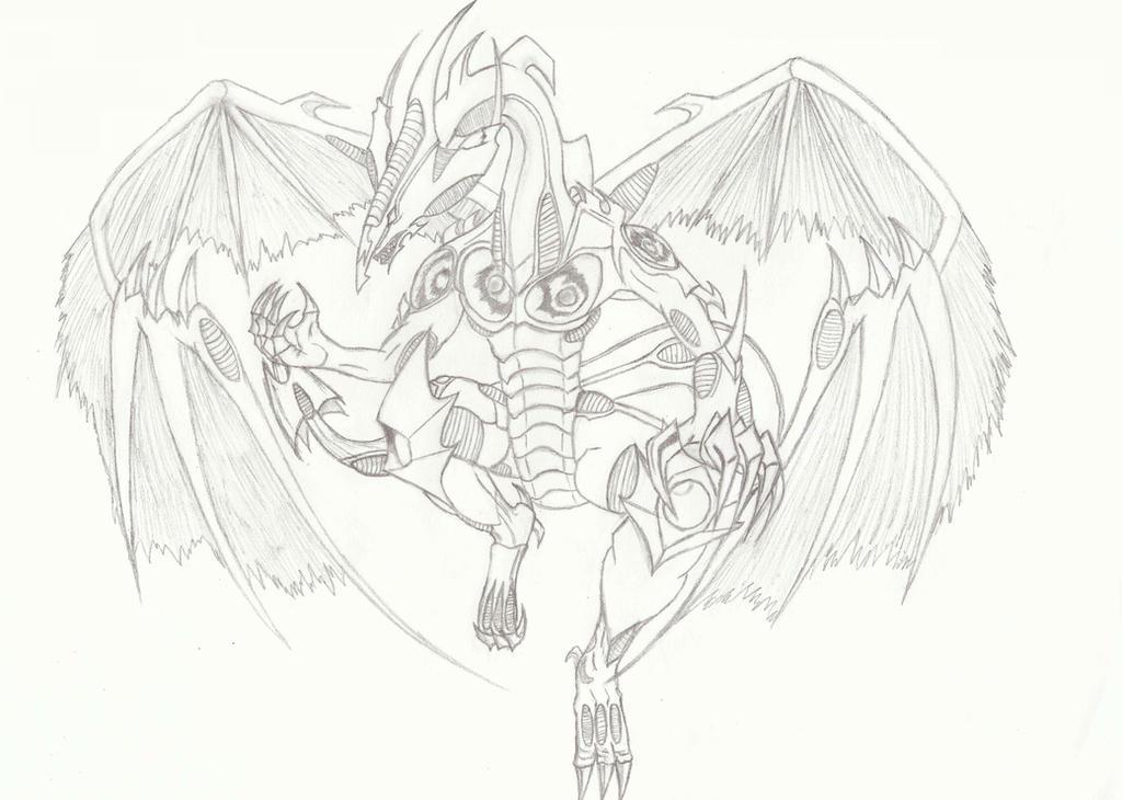 Startdust Dragon Sketch by SharrdriderofVulken