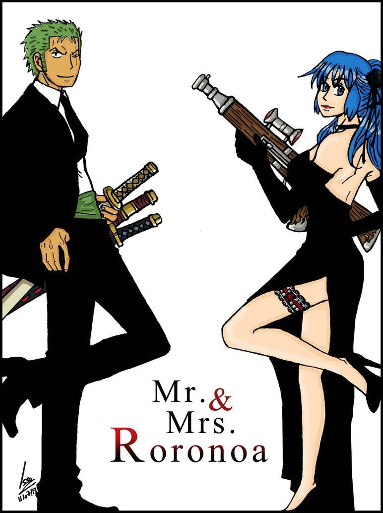 Mr & Mrs Roronoa by Issoman