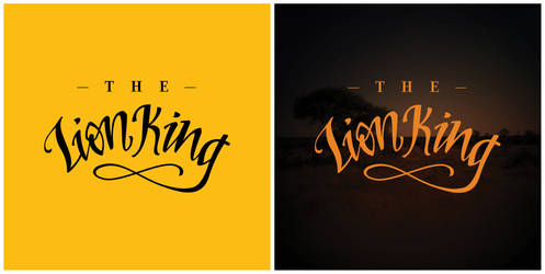 The Lion King by graphiqual