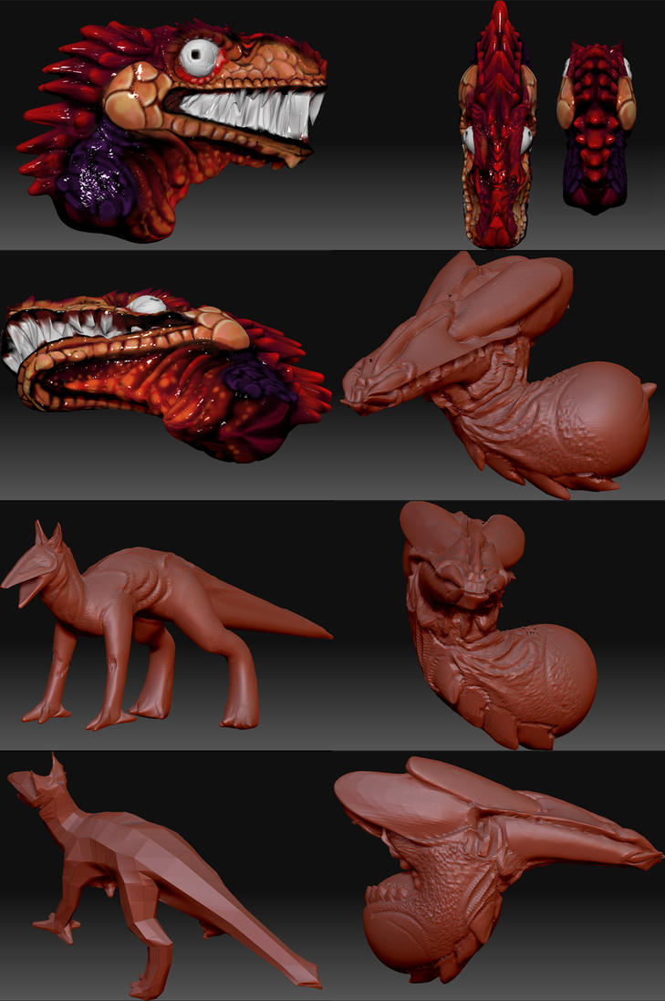 Zbrush Practice by ALRadeck