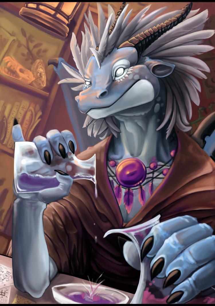 The Dragon Alchemist by ALRadeck