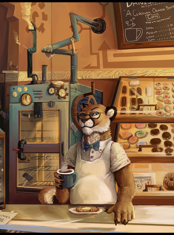 A Clockwork Orange Bakery by ALRadeck