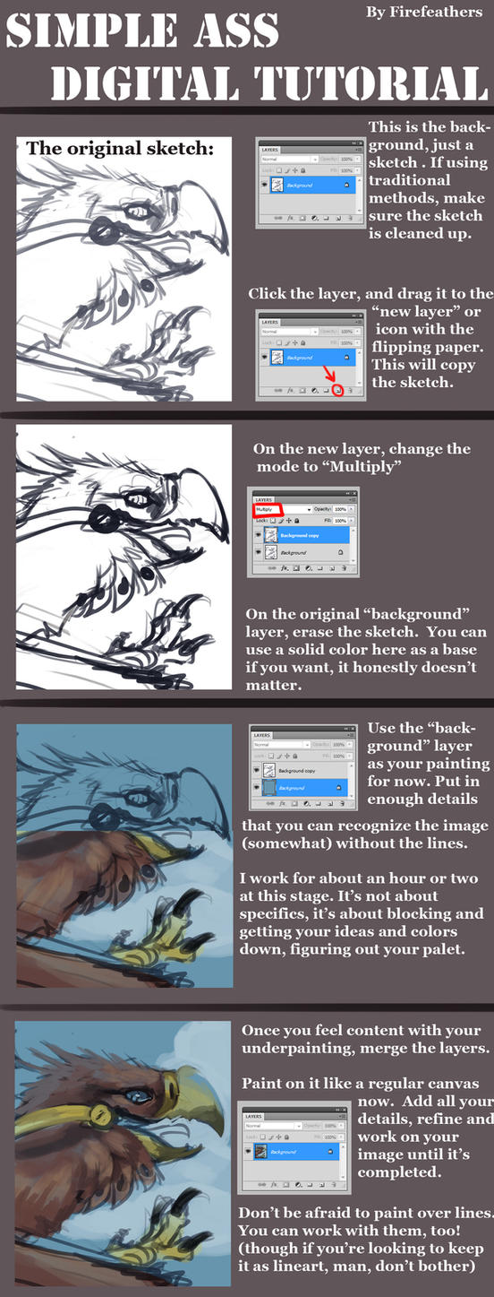 Simple Ass Digital Painting Tutorial by ALRadeck on DeviantArt