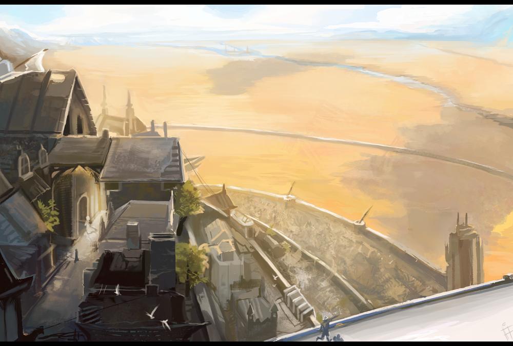 Minas Tirith by ALRadeck