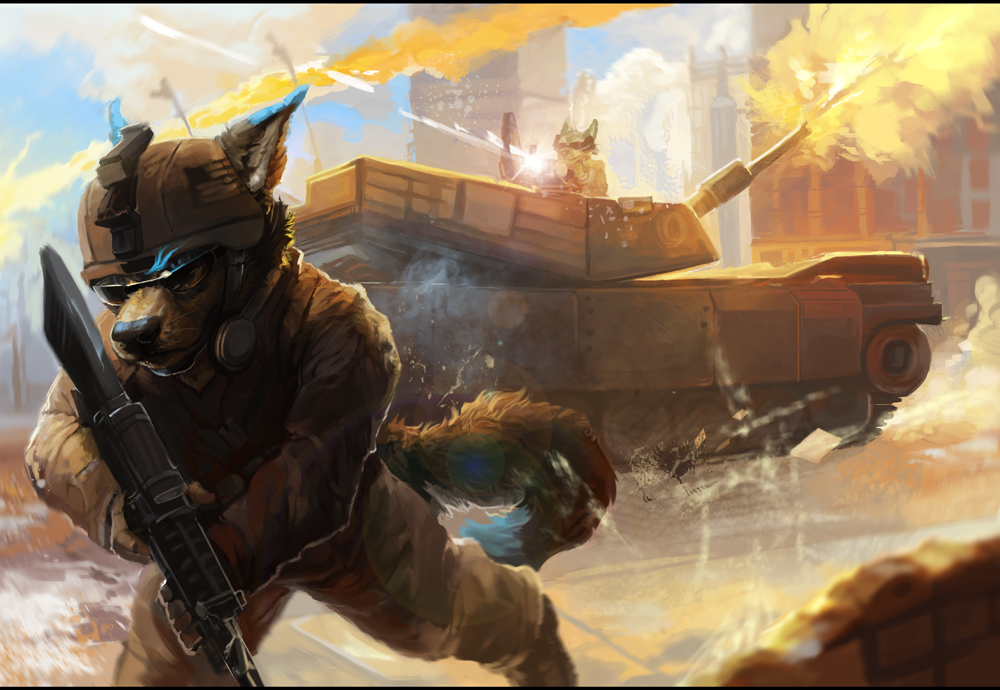 cool furry wallpapers military - photo #41