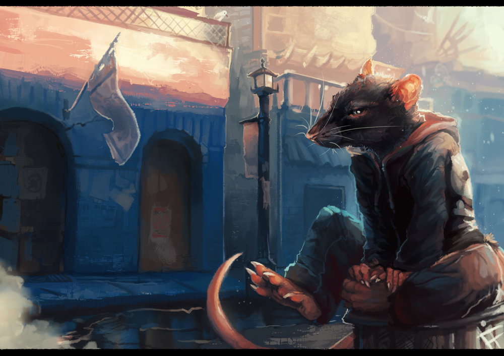 Rattus Domi by ALRadeck