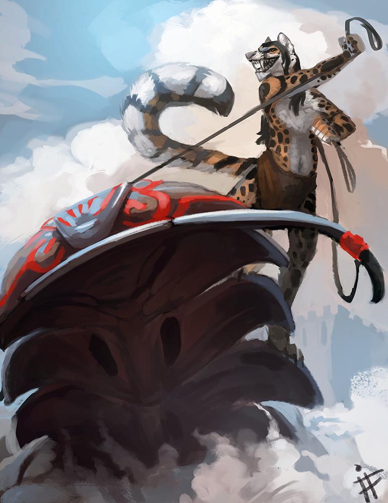 Trilobite Jousting! by ALRadeck