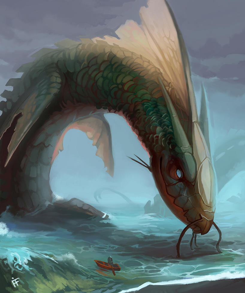 Spellbound Sea Monsters Cover by ALRadeck