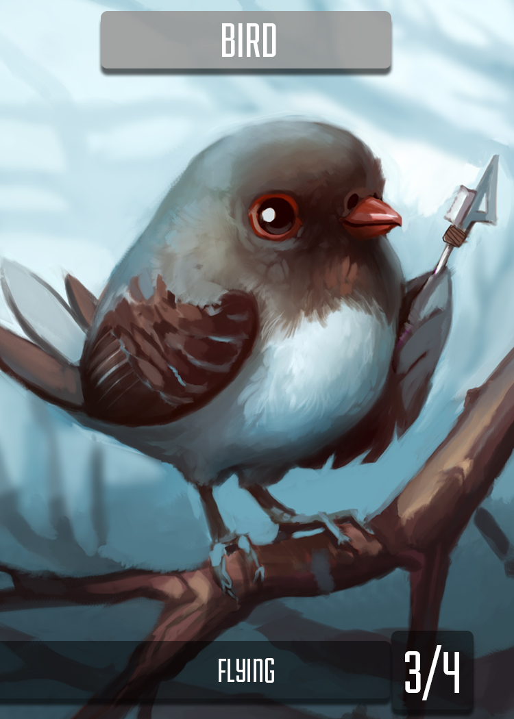 White Bird Token by ALRadeck