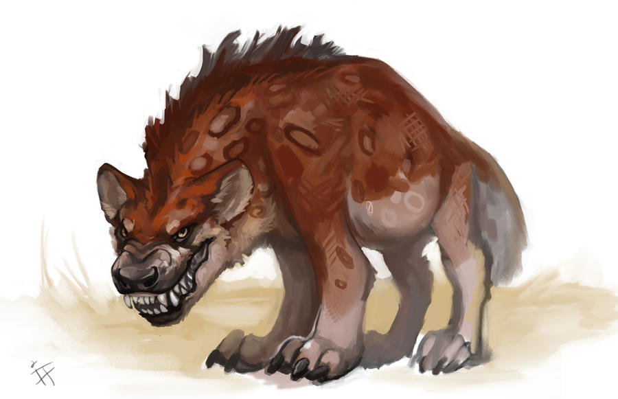 Pangean Hyena - Ultimum RPG Kickstarter! by ALRadeck