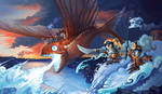 Dragonfish of Antarkir by ALRadeck