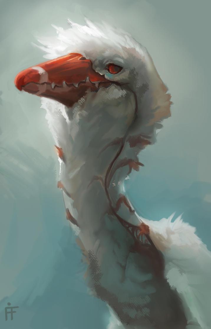 Owe bird Doodle by ALRadeck