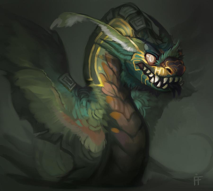 Quetzalcoatl Quickie by ALRadeck