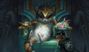 Tasipurr the Golden Paw by ALRadeck