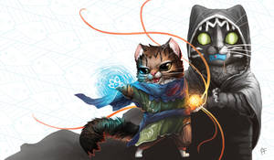 Magic Meowigins by ALRadeck