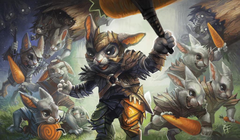 Hoppin' Rabbitmaster by ALRadeck